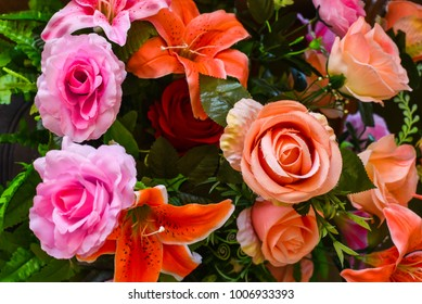 Beautiful flower in wedding ceremony