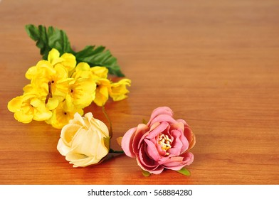 Beautiful Flowers on Table