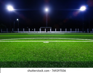 Beautiful Football field