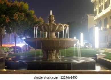The beautiful fountain