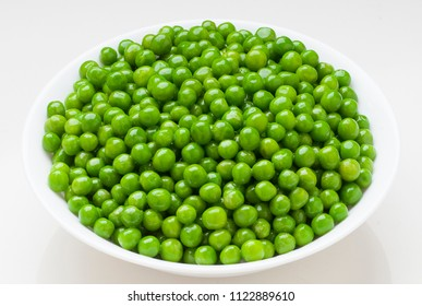 beautiful, fresh and natural peas