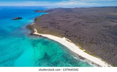 Beautiful galapagos island