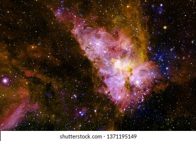 Beautiful galaxy somewhere in outer space. Elements of this image furnished by NASA.