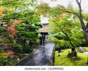 Beautiful garden of Entsuin Temple in Matsushima, Miyagi Prefecture of Japan.