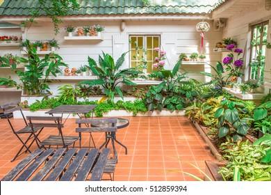beautiful garden - home exterior