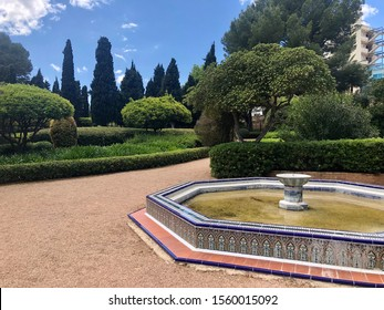 Beautiful garden in Palma de Mallorca