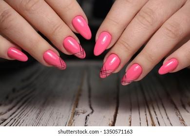Gel Nails Images Stock Photos Vectors Shutterstock