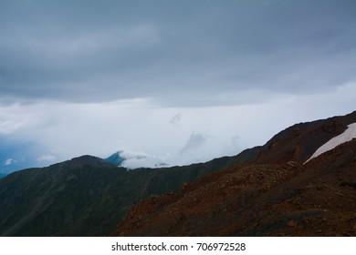 Beautiful Georgian Caucasus Landscape in Upper Svaneti
