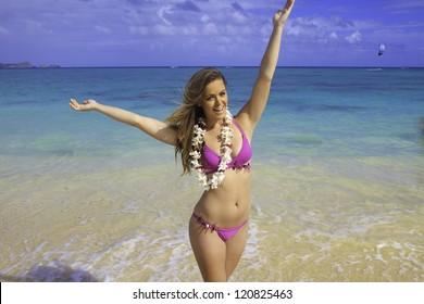 Australian bikini beach things, speaks)