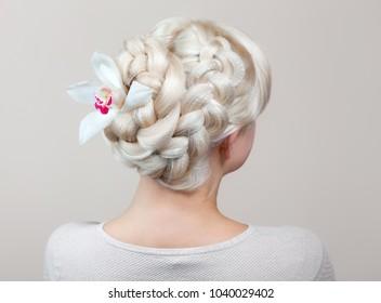 Blonde Hair Braid Images Stock Photos Vectors Shutterstock