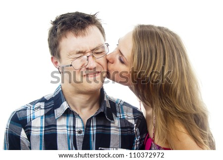 Do guys like getting kissed on the cheek