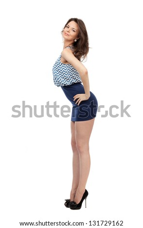 Seems Beautiful girls with long legs can suggest