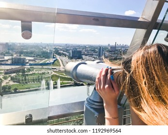 Tourists On Observation Images, Stock Photos & Vectors