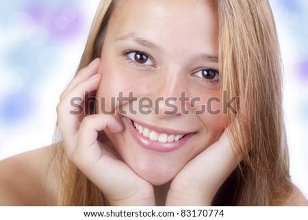 Pleasant smiles