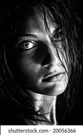 beautiful girl portrait
