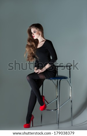 Apologise, Girl on bar stool all