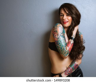 Naket tattoos sexy grils what