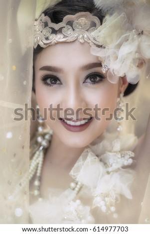 A beautiful girl wearing