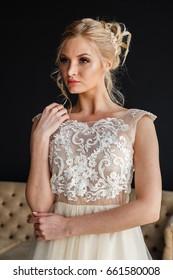 Busty Wedding Dress Images Stock Photos Vectors Shutterstock