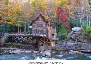 Beautiful Glade creek Grist mill