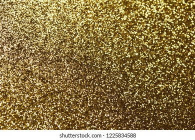 Beautiful Glitter Gold Bokeh Abstract Background