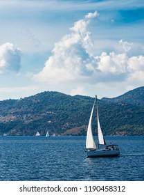 Beautiful Gocek Islands in Turkey