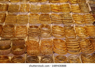 Beautiful Golden Color Bangles For Women