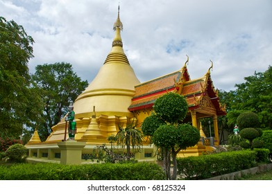 Beautiful golden pagoda