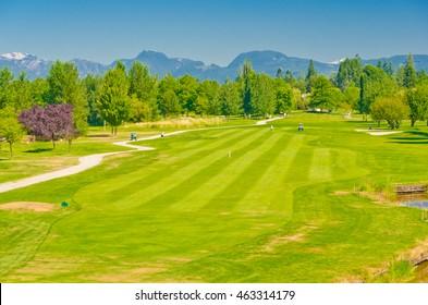 Beautiful golf course.