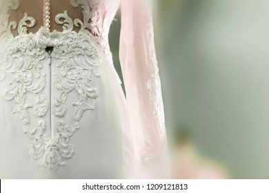 Beautiful gown with lace