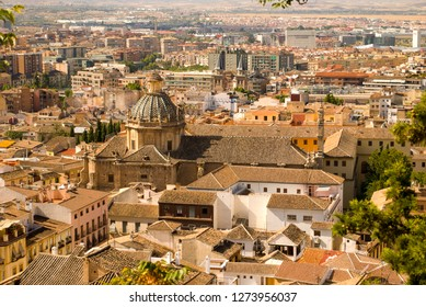 the beautiful Granada, in the south of Spain, in Andalusia