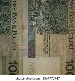 BEAUTIFUL GREEN 100 PLN POLISH ZLOTY