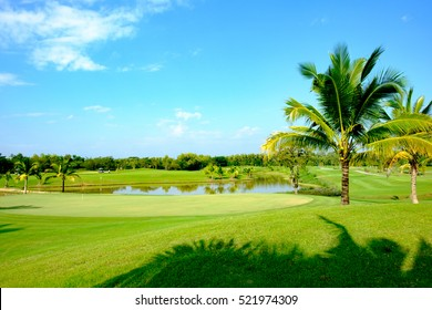 Golf Course Background Images Stock Photos Vectors Shutterstock