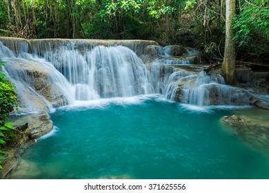 Beautiful Green water fall