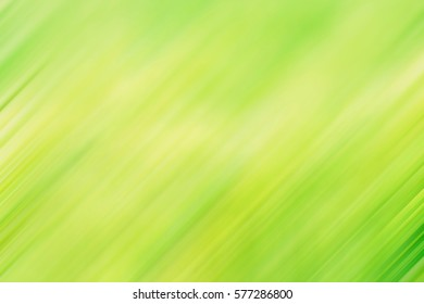 Beautiful green and yellow colors of nature, Abstract diagonal directions motion blur effect design for background