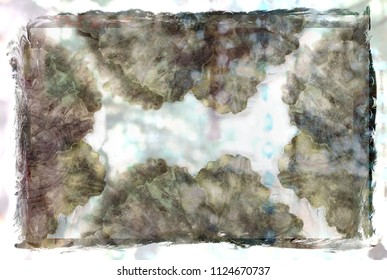 Beautiful Grunge Background in Muted and Pastel Tones