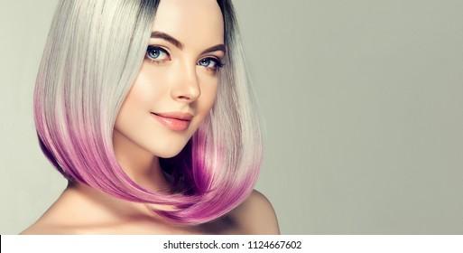 Short Hair Model Images Stock Photos Vectors Shutterstock
