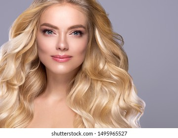 Beautiful hair woman healthy beauty hairstyle model