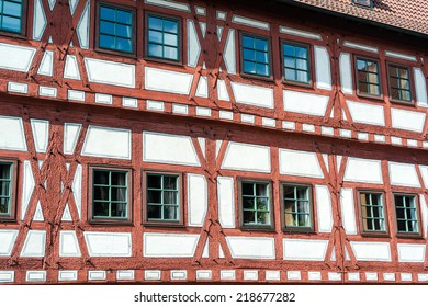 Beautiful half timbered house in Besigheim, South Germany