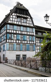 Beautiful half-timbered house in the Petite-France district of Strasbourg
