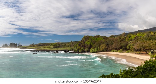 Beautiful Hamoa beach near Hana, Maui, Hawaii