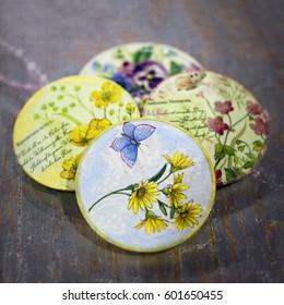 Beautiful Handmade Crafts. Painting, decoupage, applique