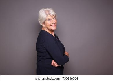 Beautiful happy Granny