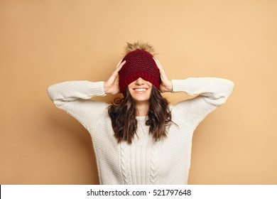 Girl Wearing Beanie Images Stock Photos Vectors Shutterstock