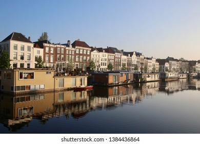 The beautiful harbor and city of Middelburg.  Zeeland