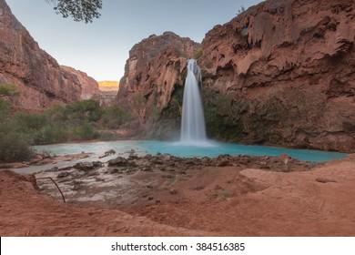 Beautiful Havasu Falls - Grand Canyon Arizona