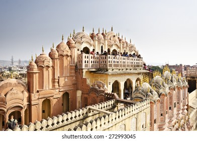 Beautiful hawa mahal at jaipur