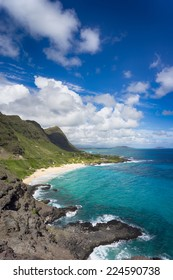 Beautiful Hawaii coastline