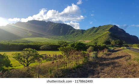 Beautiful Hawaii landscape