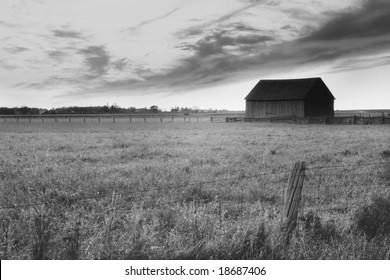 Beautiful HDR photo of rural Ontario
